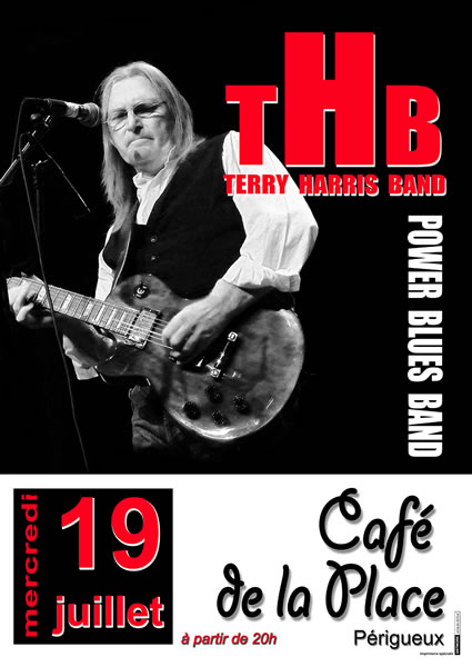 Terry Tezzah Harris Band Poster